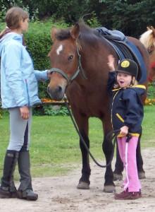 Ponyreiten auf dem Lerchenhof